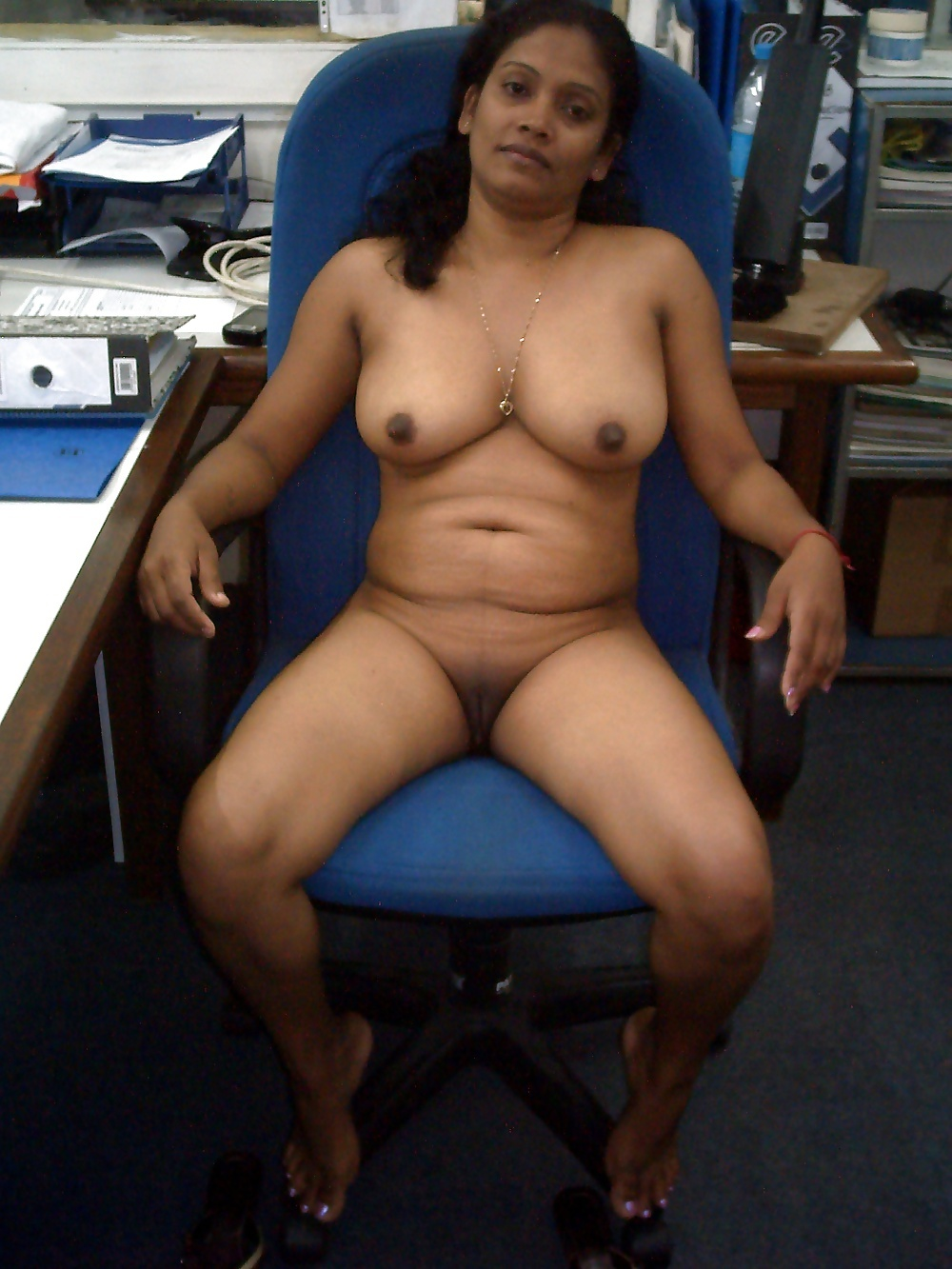 Middle aged women naked by themselves